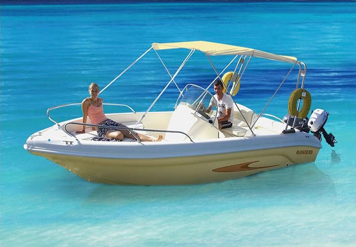 Boat Rental 4h (up to 8p)